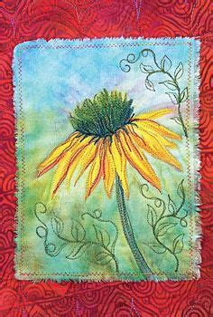 flower doodle quilt kit surface design on 22 pins