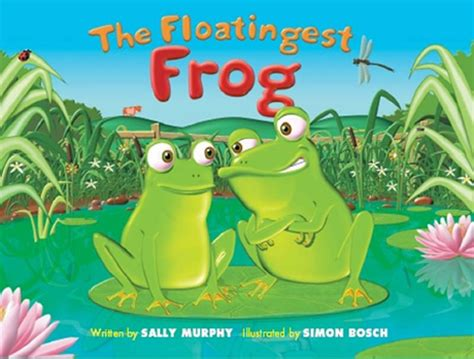frog picture books the floatingest frog