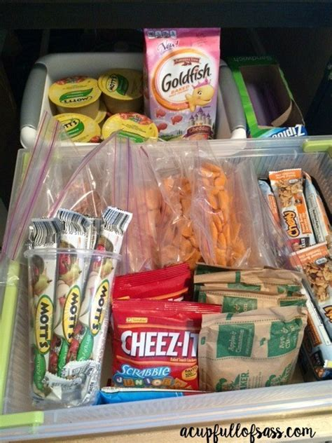 kid friendly snack drawer a cup of sass