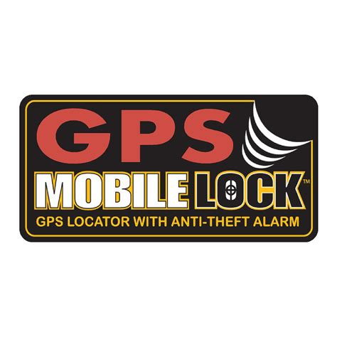gps for mobile gps mobile lock warning sticker anti theft decals