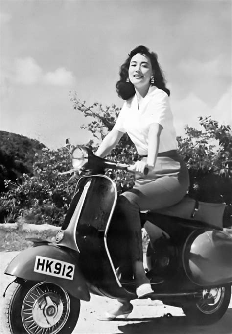 Get Mod Chic To Rival The 60s Pin Ups by 60s Hong Kong Scooter Yeh Feng The Mod Generation