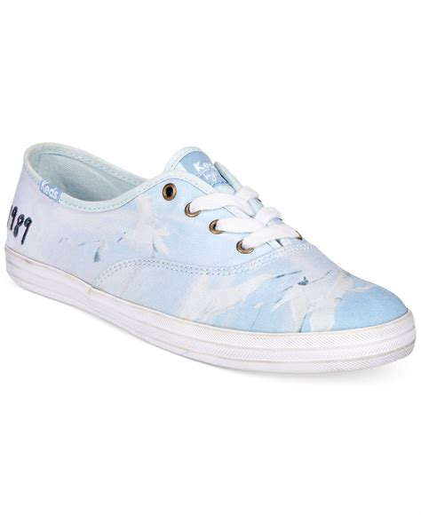 Sepatu Keds Chion Blue Sky lyst keds s limited edition 1989 chion sneakers in blue
