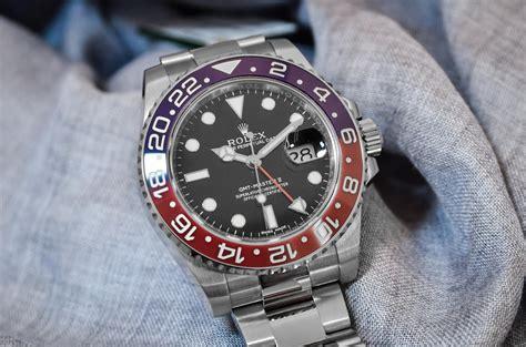 Jam Replika Rolex Gmt Master Ii Black Pepsi Swiss Eta 1 1 introducing the rolex gmt master ii pepsi ref 116719blro monochrome watches