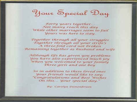Wedding Anniversary Poems For Parents by Seven Benefits Of 12th Wedding Anniversary Poems For