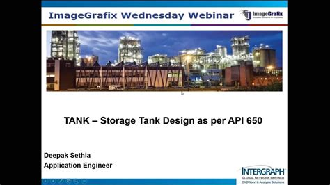 Intergraph Tank 2016 Storage Tank Design Software Analysis tank storage tank design as per api 650
