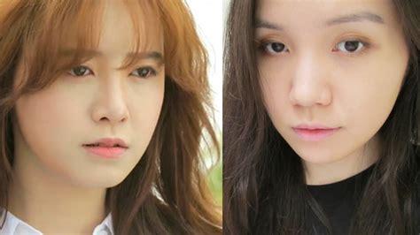 ku hye sun makeup tutorial ku hye sun makeup tutorial 구혜선 엔젤아이즈 윤수완 메이크업 youtube