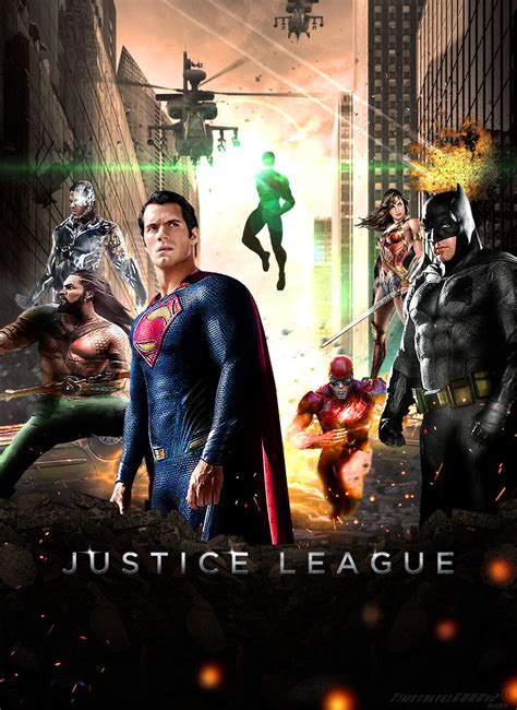 film justice league tayang justice league 2017 movie poster by timetravel6000v2