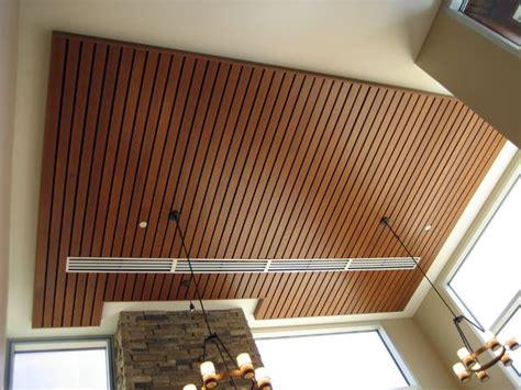 international bank wood ceilings