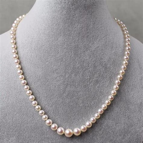 Giftcollection Semi Premium Necklaces graduated cultured pearl choker necklace i do pearls