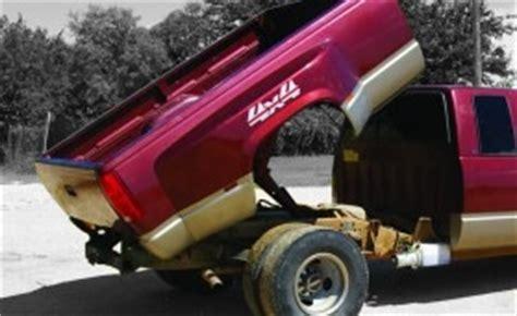 pickup dump bed kit 2 ton dump bed kit for 2011 chevrolet or gmc pickup trucks