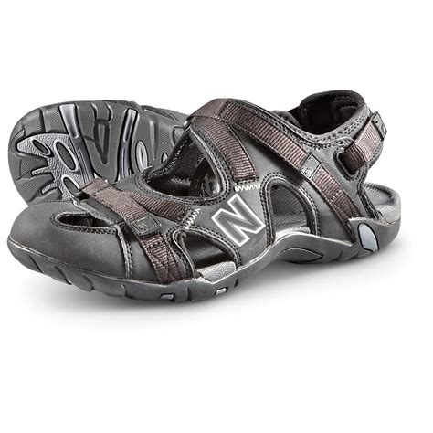 mens outdoor sandals s new balance 174 outdoor sandals black 218977