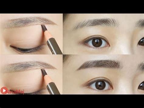 tutorial cukur alis korea 5 langkah mudah membuat alis lurus ala korea cosmetics