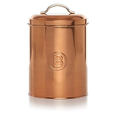 Kitchen Canisters Asda George Home Copper Biscuits Canister Kitchen Storage