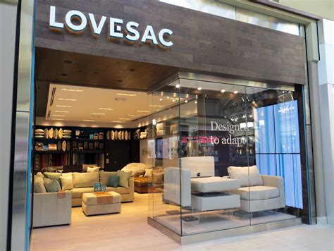 The Lovesac Store lovesac unveils new generation store design concept the grayson company