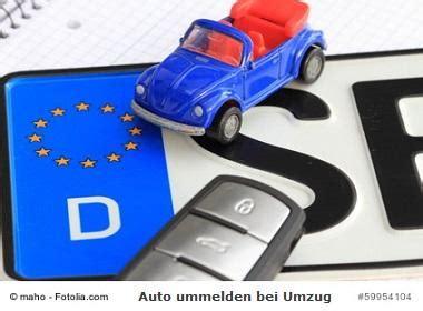 Auto Abmelden Kosten by Auto Ummelden Bei Umzug 187 Pflichten Fristen Und Kosten