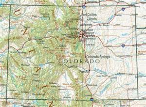 map of colorado and colorado maps and state information