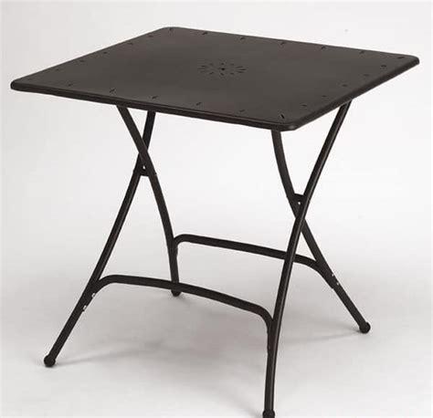 tavoli pieghevoli design tavolo pieghevole in metallo per giardino idfdesign