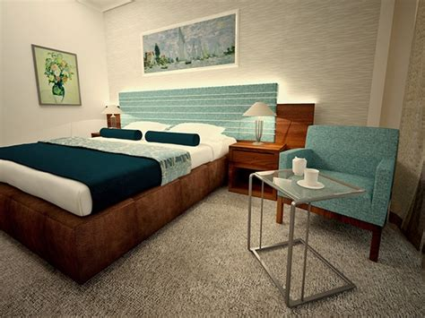 Simple Hotel Room Design Ideas Simple Hotel Room Design On Behance