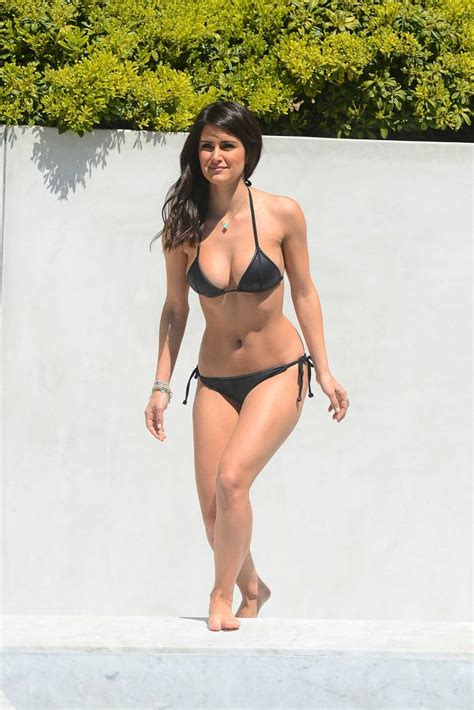 Interior Designer Website roxy sowlaty wearing a bikini by the pool in santa barbara
