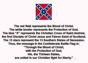 Historic Meaning by Confederate Battle Flag Meaning American History
