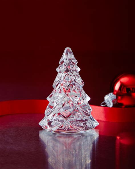 waterford crystal crystal christmas trees