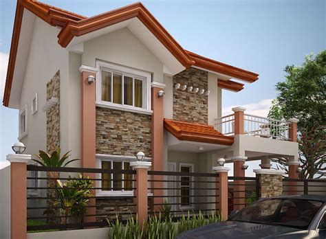 home designs online 35 house photos with stone clad design
