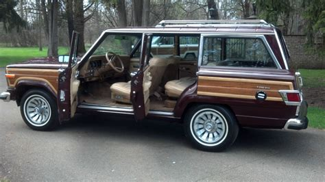 jeep wagoneer trunk bangshift com this 1983 jeep wagoneer is cleaner than the