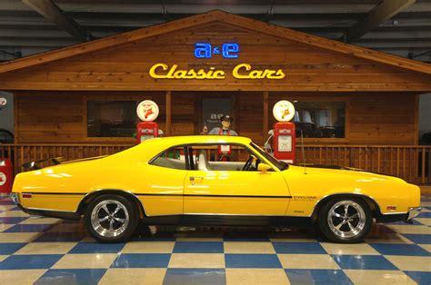 chrome yellow 1970 mercury cyclone chrome yellow black a e classic