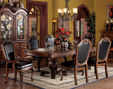acme furniture chateau de ville 7 formal dining set