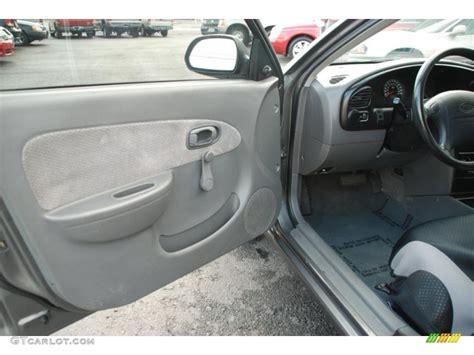 2003 Kia Spectra Interior Gray Interior 2002 Kia Spectra Sedan Photo 39196023