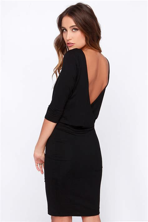lulu s backless dress
