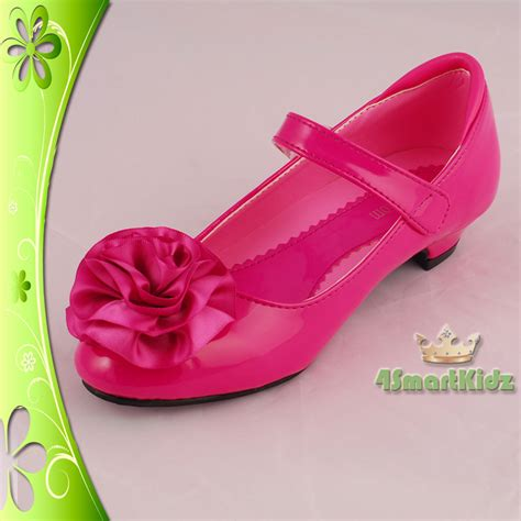 flower pink shoes pink wedding flower bridesmaid shoes size 11 5 ebay
