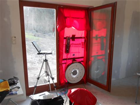 blower door test wann luftdichtheitsmessung ablauf eines blowerdoor tests