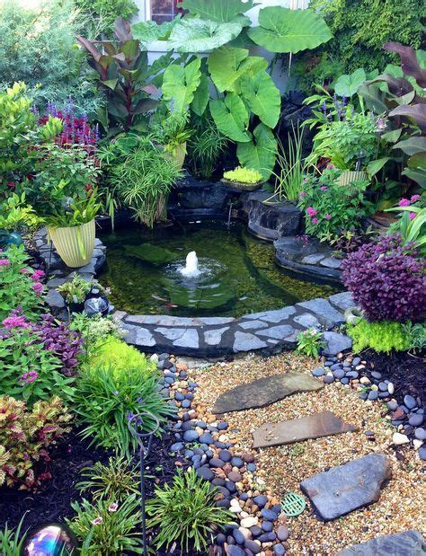Tiny Backyard Ponds Ideas For Your Small Garden 19 Small Pond Ideas For Small Gardens