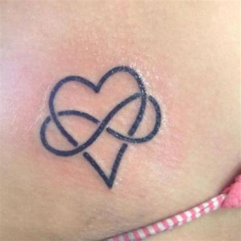 heart infinity tattoo quot your love never fails quot outlining