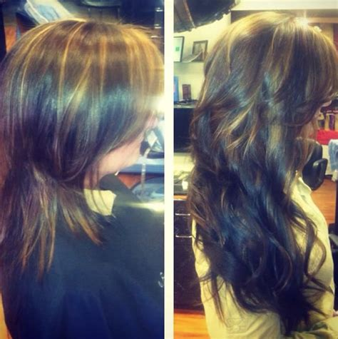 grey hair extensions before and after hair extensions in raleigh north carolina ashley grey salon