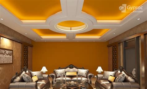 False Ceiling Designs For Living Room India False Ceiling Designs For Living Room Gobain Gyproc India My Int