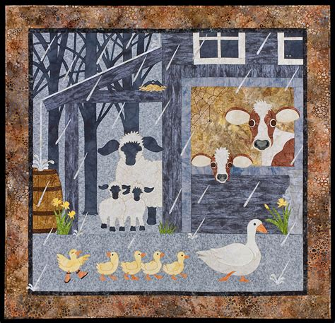 Selimut White Sheep 1 applique patch animaux on kid quilts quilts and quilt patterns