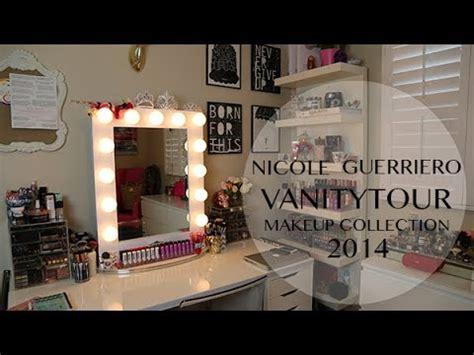 vanity tour makeup collection guerriero