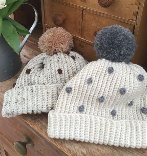 crochet patterns for drummers crochet club crochet club ladies bobbly bobble hat lovecrochet blog