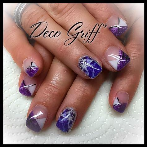 Deco Ongle Violet by Les 187 Meilleures Images Du Tableau Ongle Deco Griff Sur