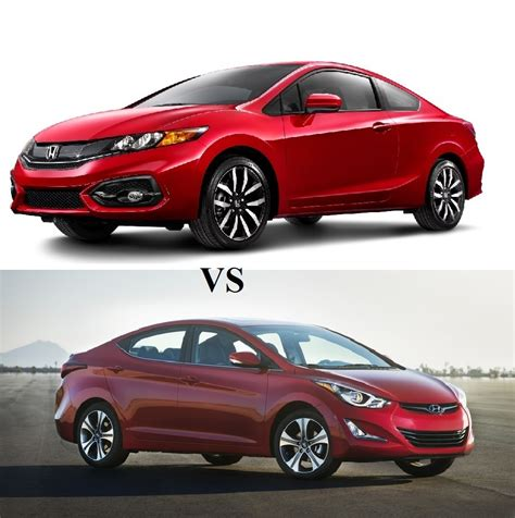 honda elantra 2014 compare the 2014 honda civic vs the 2014 hyundai elantra