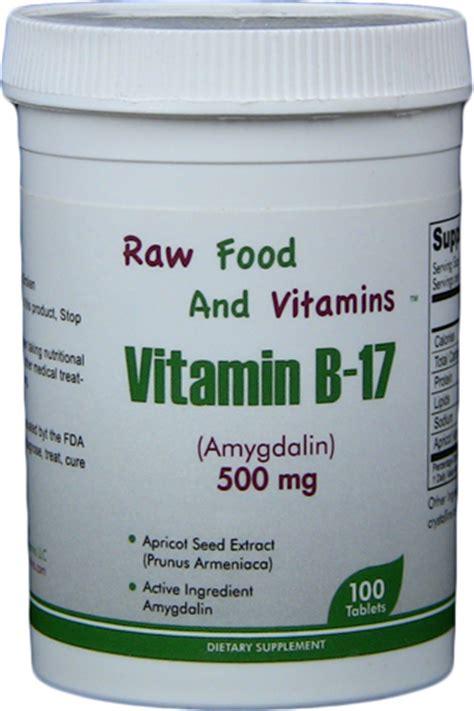 Vitamin B17 vitamin b17 500mg tablets