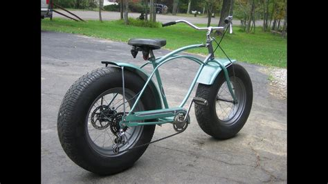 bicycle car custom schwinn bike with car tires