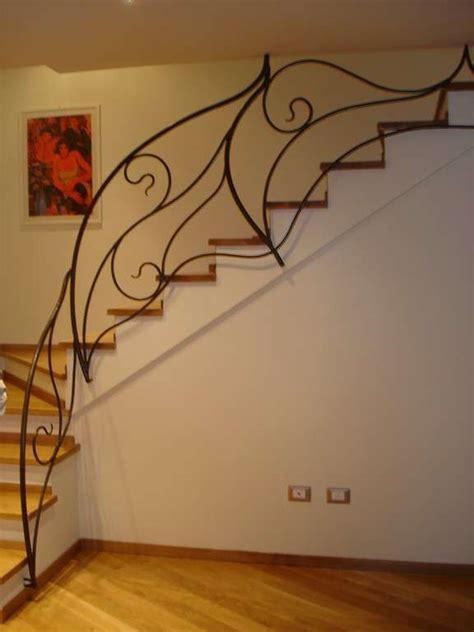 ringhiera scale ferro battuto ringhiere e balaustre per scale e soppalchi luzzi ferro
