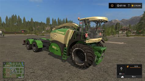 For Ls by Krone Bigx 580 Hkl V2 0 For Ls 17 Farming Simulator 2017