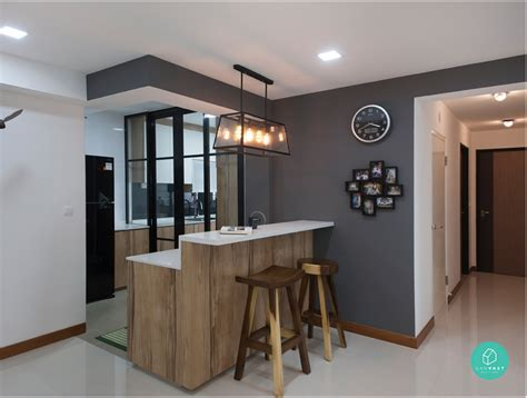 Kitchen Island With Dishwasher by 6 Brilliant 4 Room Hdb Ideas For Your New Home