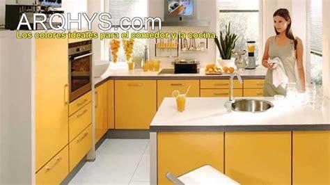 los colores ideales  la cocina  el comedor youtube