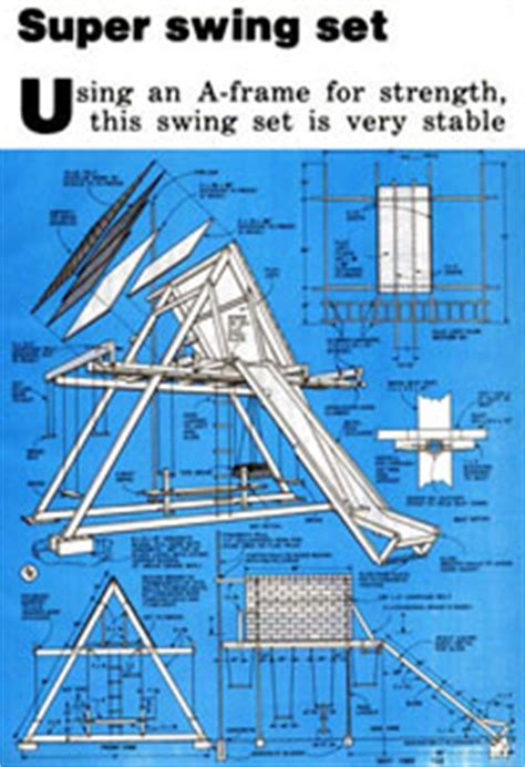 how to build a swing set free plans 12 free swing set plans how to build a swingset