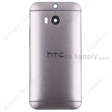 htc one m8 rear htc one m8 rear housing gray with logo only etrade